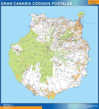 Postnummer Isla Gran Canaria Karta Vaggkartor